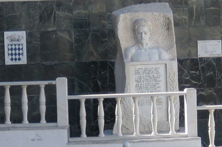 MONUMENT TO QUARRYMAN